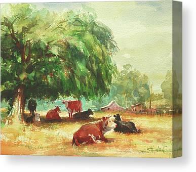 Farmstead Canvas Prints