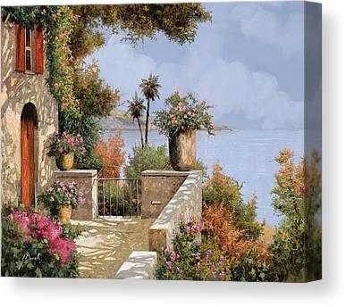 Villas Canvas Prints