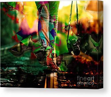 Aperture Mixed Media Canvas Prints
