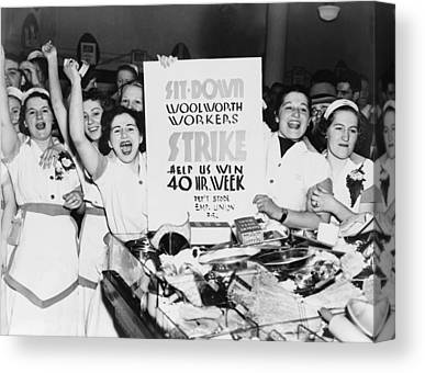 Working Conditions Photographs Canvas Prints