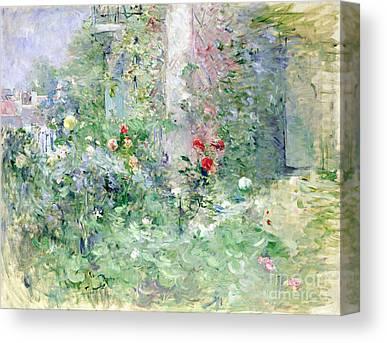 Morisot Paintings Canvas Prints
