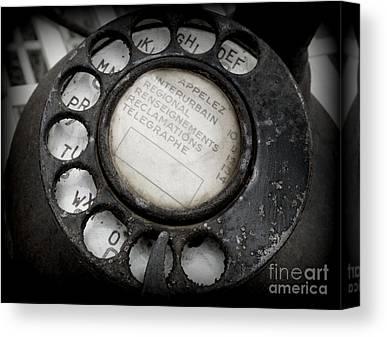 Telephone Canvas Prints