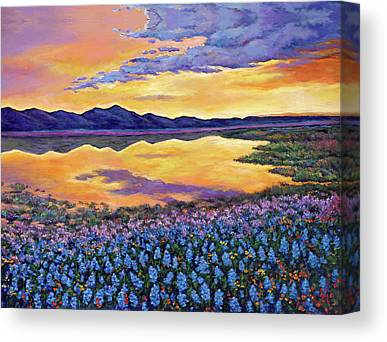 Wildflowers Canvas Prints