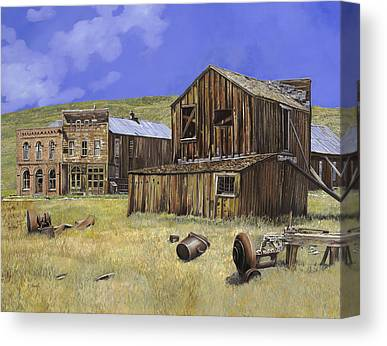 Bodie Ghost Town Canvas Prints