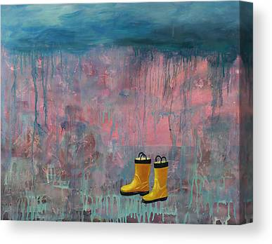 Dripping Canvas Prints