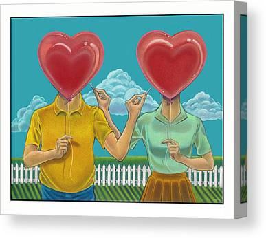 Doomed Love Canvas Prints
