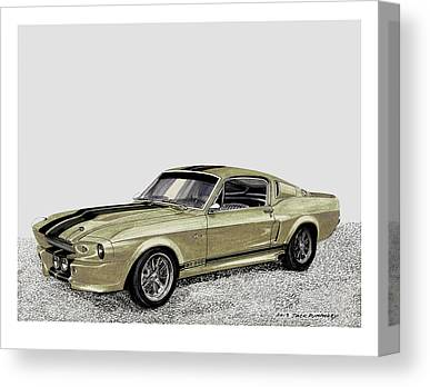 Front End Paintings Canvas Prints