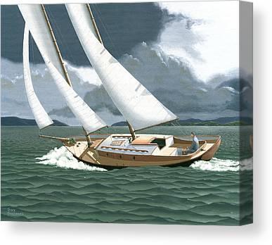Vancouver Paintings Canvas Prints