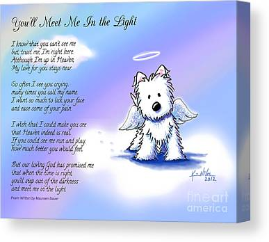 Memorial Digital Art Canvas Prints