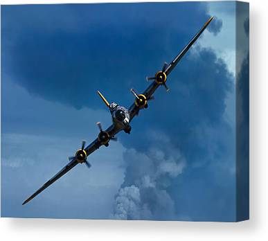 Vintage Air Planes Canvas Prints