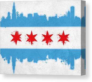 Stencil Paintings Canvas Prints