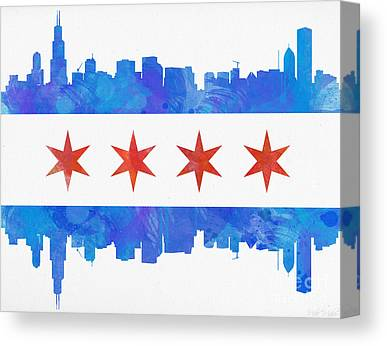 North America Canvas Prints