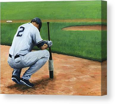 Derek Jeter Canvas Prints
