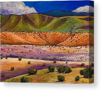 Foothills Canvas Prints