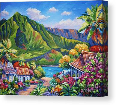 Bali Island Canvas Prints