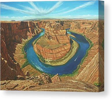 Vermillion Cliffs Canvas Prints