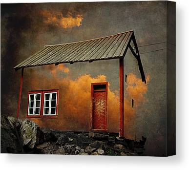 Houses Canvas Prints