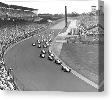 Indianapolis 500 Canvas Prints