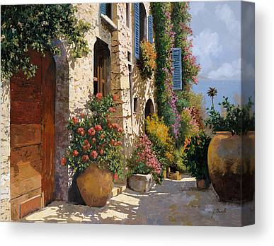 Peaceful Scene Paintings Canvas Prints