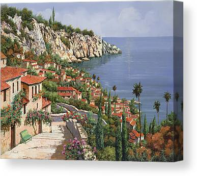 Coastal Landscape Canvas Prints