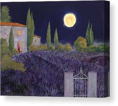 Moonlit Night Canvas Prints