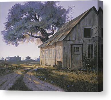 Old Country Roads Paintings Canvas Prints
