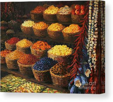 Spice Paintings Canvas Prints