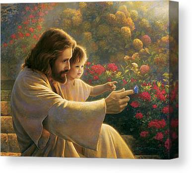 Jesus Canvas Prints