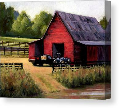 Preston Farm In Leipers Fork Canvas Prints
