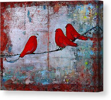 Wire Paintings Canvas Prints