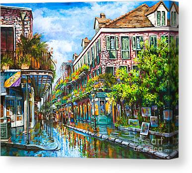 Royal Street Canvas Prints
