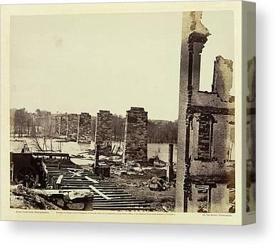 Civil War Site Canvas Prints