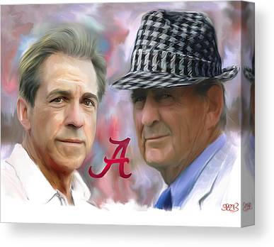 University Of Alabama Canvas Prints