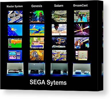 Sega Genesis Canvas Prints