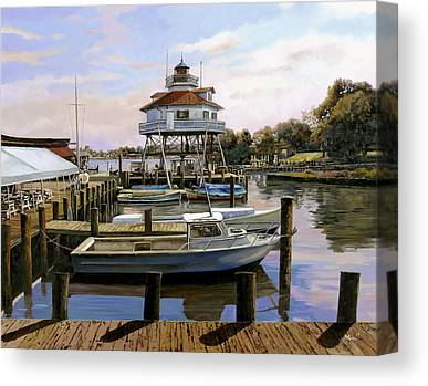 Maryland Paintings Canvas Prints