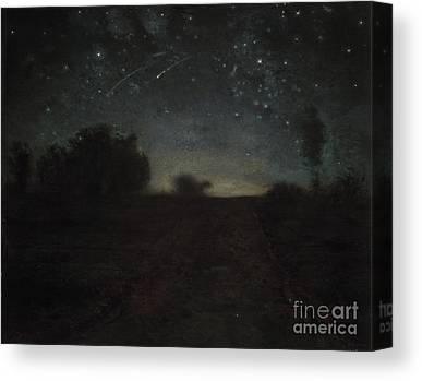 Stargazing Paintings Canvas Prints