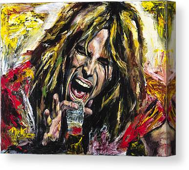 Steven Tyler Canvas Prints