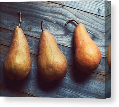 Pear Canvas Prints
