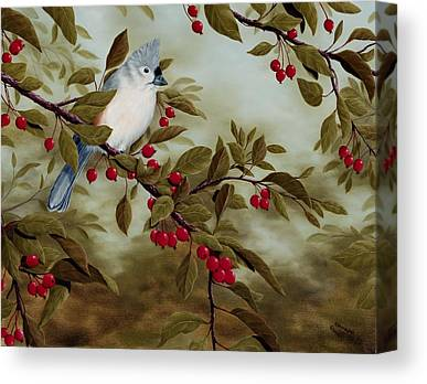 Titmouse Canvas Prints