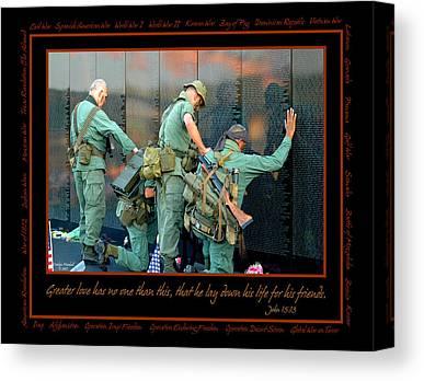 War Memorial Canvas Prints