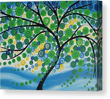 Living With Joy Canvas Prints