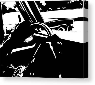 Driver Drawings Canvas Prints