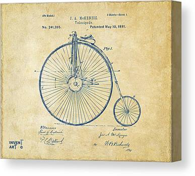 Vintage Patent Canvas Prints
