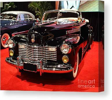 1941 Cadillac Series 62 Convertible Coupe Canvas Prints
