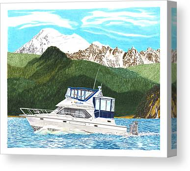 Bayliner Paintings Canvas Prints