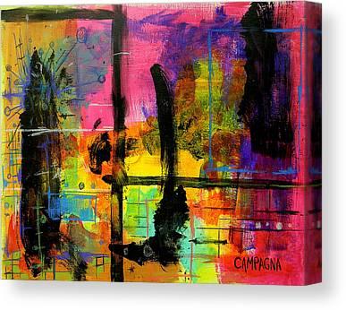 Oil Pastel Canvas Prints