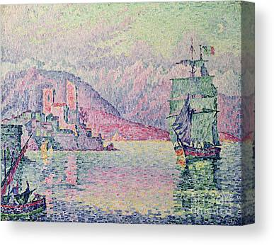 Signac Canvas Prints