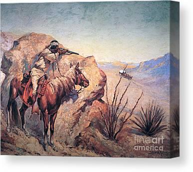 Gunman Canvas Prints