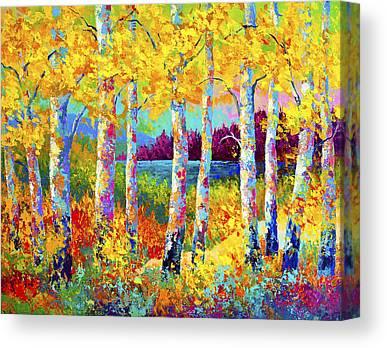 Poplar Canvas Prints