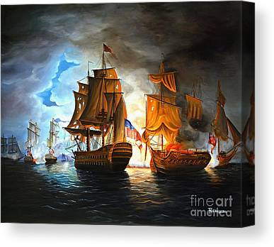 Revolutionary Canvas Prints